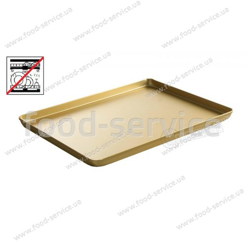 Поднос для кондитерских витрин золото Hendi 808566