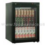 Шкаф холодильный Polair DM-102 BRAVO черный з замком