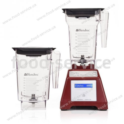 Блендер BLENDTEC TOTAL 2QT+3QT (black, red, white)