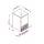 Льдогенератор кубикового льда NTF-IFT 55W. Фото 1