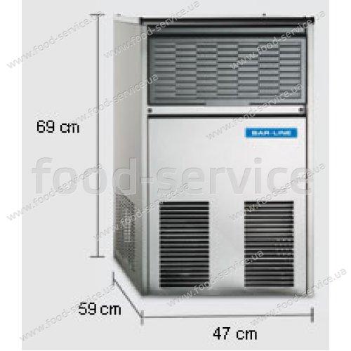 Льдогенератор Scotsman B 31 WS-M (водяное охлаждение)