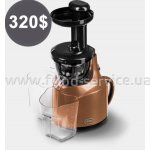 Шнекова соковижималка Slow Juicer Greenis F-9010 brown
