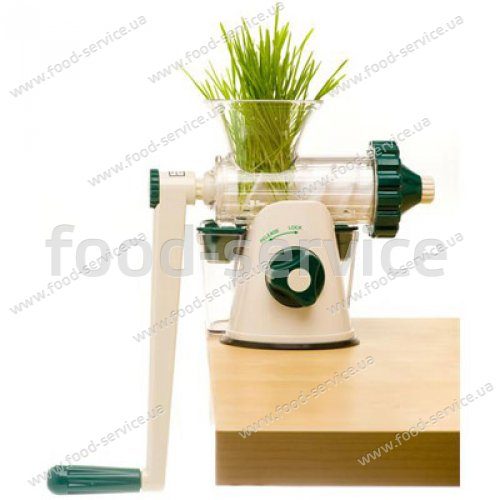 Шнековая соковыжималка механическая Healthy Juicer Manual Silver