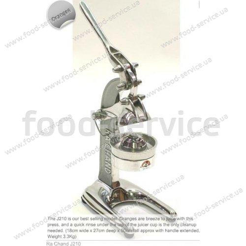 Соковыжималка мех. для цитрусовых RA Chand Products J210