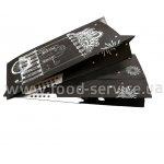 Пакет для Французского хот-дога СТ22 черный (ящик 2000шт) 170х72х35мм