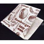 Пакеты для гамбургера G1 (ящик 2000шт) 150х125х0мм