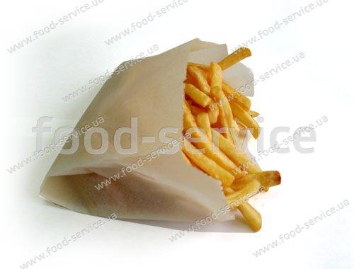 Бумажные пакеты для картошки Фри (ящик 2000шт)