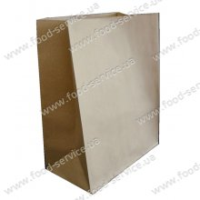 Бумажный пакет на вынос без ручек 335х260х140 (ящик 350шт)