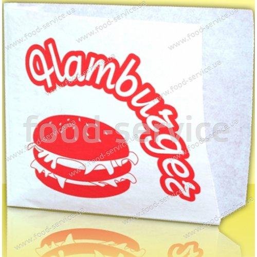 Бумажные пакеты для гамбургера (ящик 2000шт)