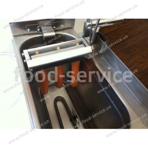 Фритюрница FCD 8 для корн-догов - сосисок в тесте на палочке