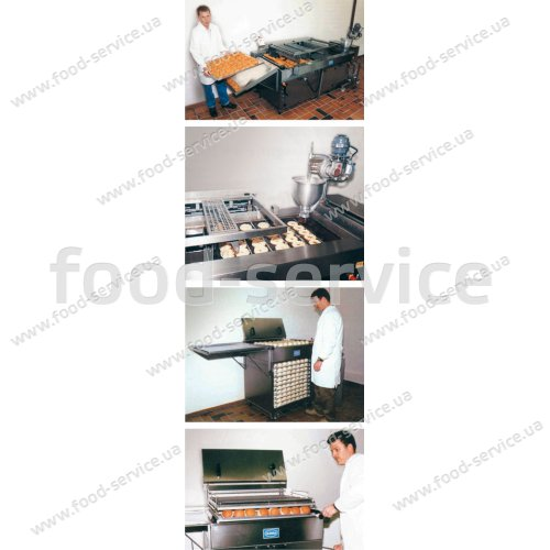 Фритюрница для берлинеров JEREMY SOLEX auto 48