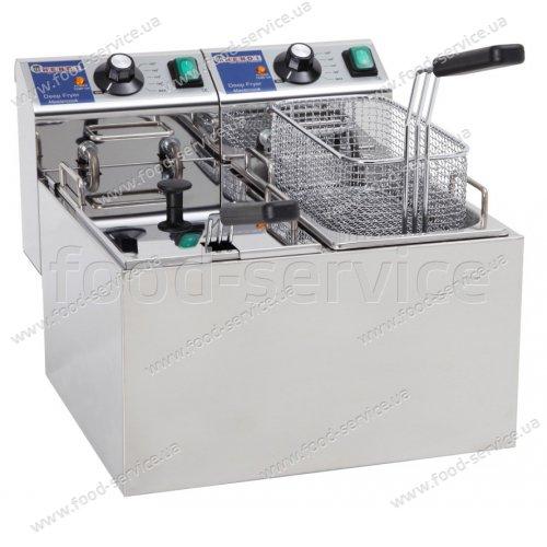 Фритюрница электрическая 2х4л Hendi Master Cook 207109