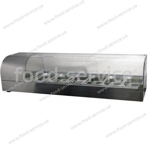 Тепловая витрина настольная ВТН-Р-6-1230