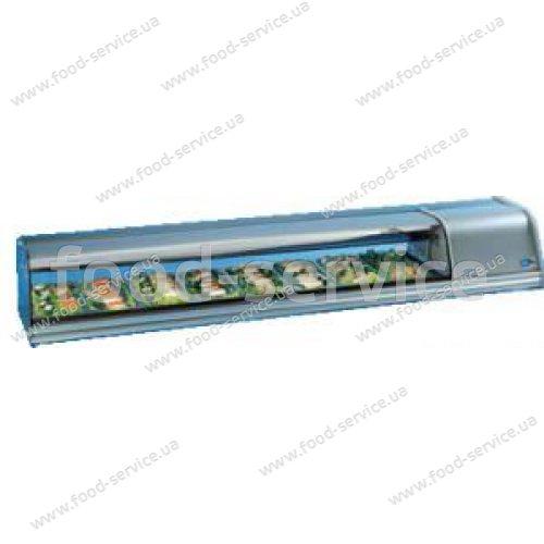 Суши-кейс COLDMASTER SUSHI 8 GN (гнутое стекло)