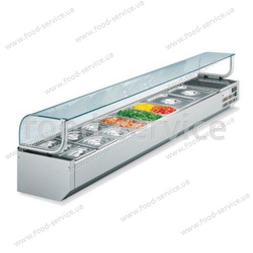 Витрина холодильная для пиццы GEMM VRPG /18 + 20801255 + KIT/3