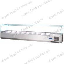 Витрина холодильная для пиццы TEFCOLD VK33-180 (прямое стекло)