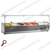 Витрина холодильная для пиццы TEFCOLD VK38-160 (прямое стекло)
