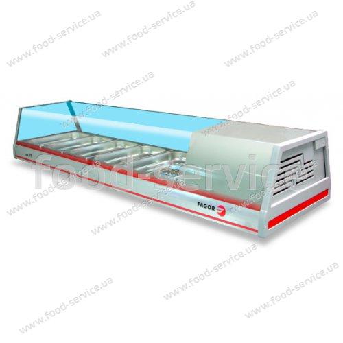Витрина холодильная Fagor VTP 139 P (прямое стекло)