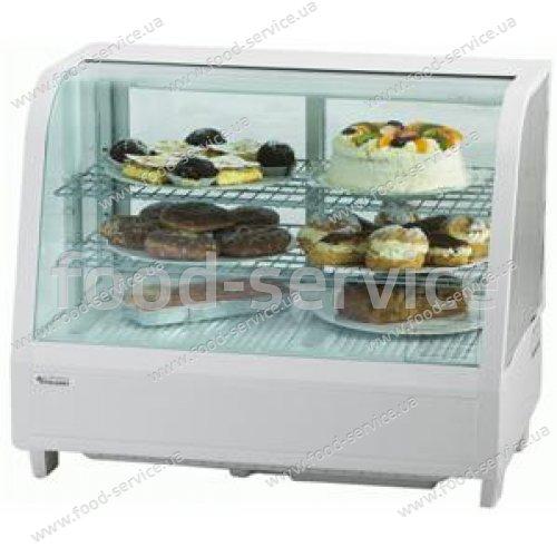 Витрина холодильная Stalgast 100л белая 852103