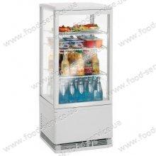 Витрина настольная холодильная BECKERS VRN 78