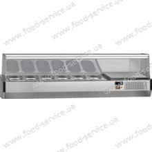 Витрина холодильная Fagor MI-180 (прямое стекло)