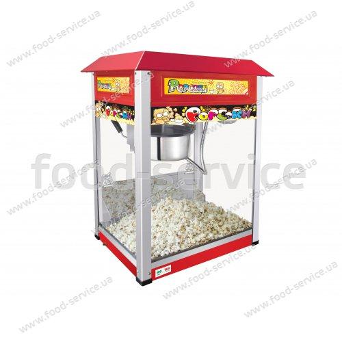 Аппарат для приготовления попкорна Inoxtech PM 802 (VBG 802)