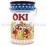 Масло кокосовое для попкорна белое OKI