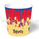 Стаканы для попкорна бумажный V170 (150шт)
