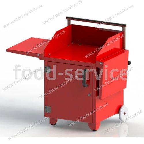 Тележка для сладкой ваты FsDesign Universal ТВ-1П с полками