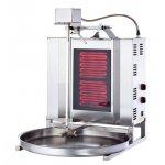 Аппарат для шаурмы Silver ED 02 стеклокерамика электр.с приводом