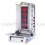 Аппарат для шаурмы Silver AD 04 стеклокерамика с нижним приводом