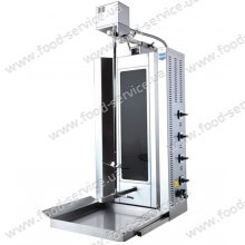 Аппарат для шаурмы Remta SD17 стеклокерамика электр.с приводом