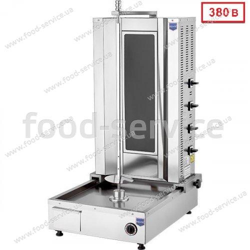 Аппарат для шаурмы Remta MA03 стеклокерамика с приводом снизу 380В