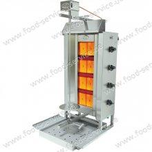 Аппарат для шаурмы газовый с электроприводом OZTI DGD4