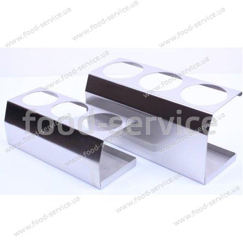 Подставка для 3-х дозаторов для соусов 360мл. FsDesign