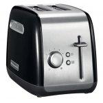 Тостер вертикальный KitchenAid 5KMT2115EOB черный