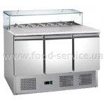 Стол холодильный саладетта трехдверный HURAKAN HKN-GXSD3GN-GC