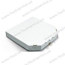Коробка для пиццы без печати белая 350х350*35 мм. 100 шт./уп.