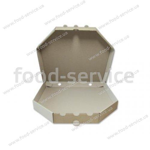 Коробка для пиццы с печатью 300х300*37 мм. 50 шт./уп.