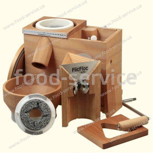 Мельница-зерноплющилка для зерна Komo FidiFloc 21
