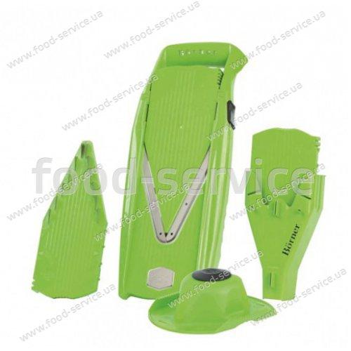 Овощерезка Borner Prima зеленая с боксом для вставок