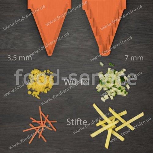 Овощерезка Borner Prima оранжевая с боксом для вставок