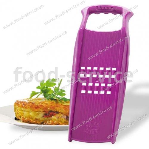 Рести-терка Borner Prima фиолетовая для запеканок