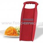 Роко-терка Borner Prima темно-красная для корейской морковки