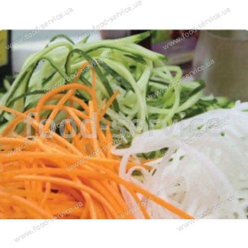Роко-терка Borner Prima оранжевая для корейской морковки