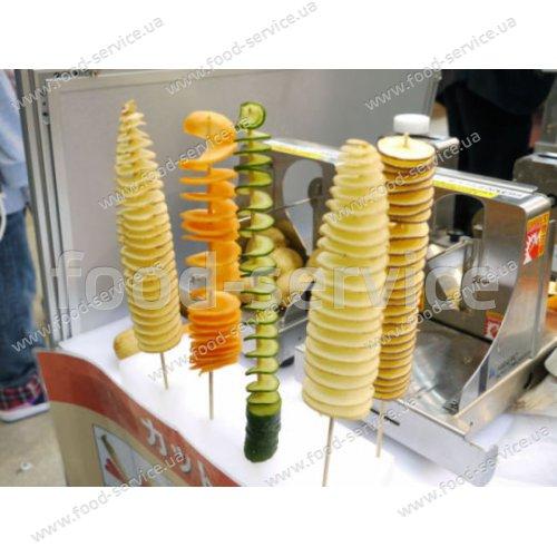 Шампуры 40 см для спиральной картошки 100шт