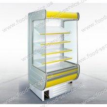 Холодильная витрина пристенная - горка ВХС(Пр)-1,4 «АРИЗОНА» NEW