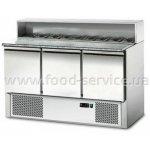 Стол холодильный GGM Gastro SAG147GN 3-х дверный