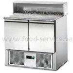 Стол холодильный GGM Gastro SAG97GN 2-х дверный