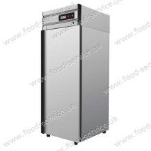 Шкаф холодильный Polair CV107-G (ШХ-0.7) (нерж)
